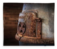Rusty Stove Fleece Blanket