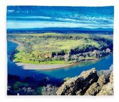 Sacramento River Fleece Blanket