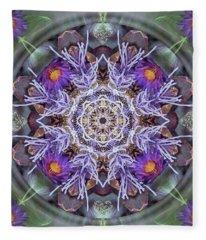 Sacred Emergence Fleece Blanket