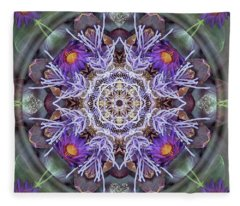 Sacred Emergence Fleece Blanket