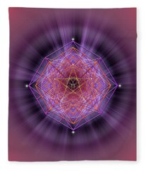 Sacred Geometry 689 Fleece Blanket