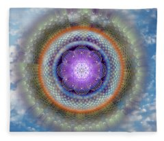 Sacred Geometry 716 Fleece Blanket