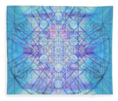 Sacred Symbols Out Of The Void A3c Fleece Blanket