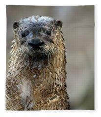 Soaking Wet Fleece Blanket