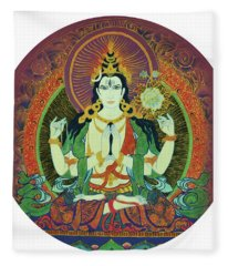 Sada Shiva  Fleece Blanket