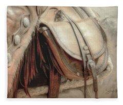 Saddle Bag Fleece Blanket