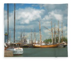 Safe Harbor Fleece Blanket