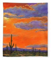Arizona Fleece Blankets