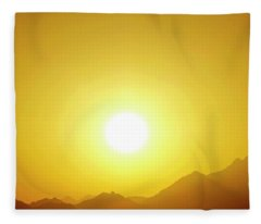 Sahara Sunset 2 Fleece Blanket