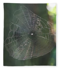 Said The Spider.... Fleece Blanket