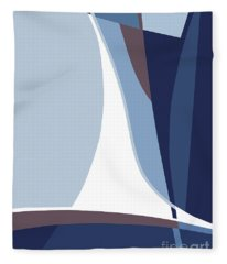Sail Fleece Blanket