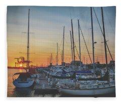 Sail Me Away Fleece Blanket