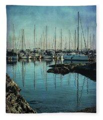 Marina - Digitally Textured Fleece Blanket