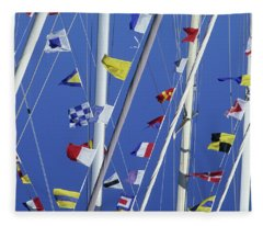 Sailing, General Fleece Blanket
