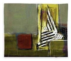Sailing In Dreams Fleece Blanket