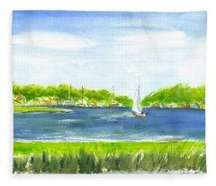 Sailing Wexford Fleece Blanket