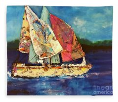 Sails Away Fleece Blanket