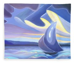 Sails Fleece Blanket