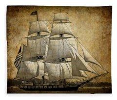 Schooner Fleece Blankets
