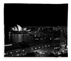Sails In The Night Fleece Blanket