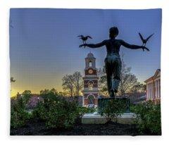 Saint Francis On Campus Fleece Blanket