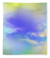 Saint John The Baptist Fleece Blanket