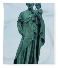 Saint Josephs 5 Fleece Blanket