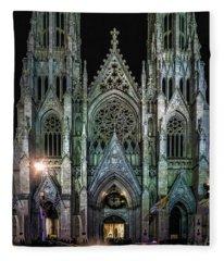 Saint Patricks Cathedral Fleece Blanket