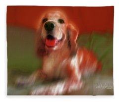 Saint Shaggy Art Photograph 21 Fleece Blanket