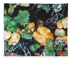 Salal Fleece Blanket