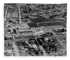 Salinas High School 726 S. Main Street, Salinas Circa 1950 Fleece Blanket