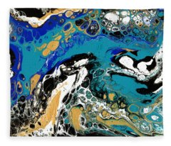 Salt Water Fleece Blanket