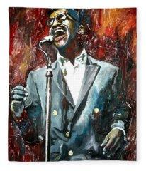 Sammy Davis Jr Fleece Blanket