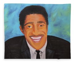 Sammy Smiles Fleece Blanket