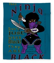 True Ninja Fleece Blanket