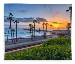 San Clemente Fleece Blanket