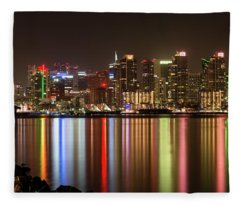 San Diego's True Colors Fleece Blanket