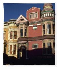 San Francisco Haight Ashbury - Photo Art Fleece Blanket