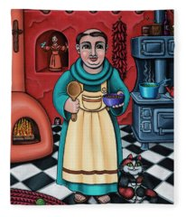 San Pascual Paschal Fleece Blanket