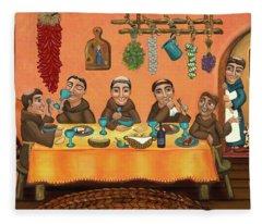 San Pascuals Table 2 Fleece Blanket