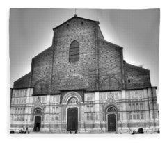 San Petronio Basilica Fleece Blanket
