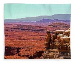 San Rafeal Swell Fleece Blanket
