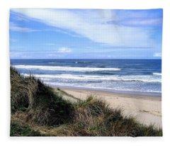 Sand And Sea 12 Fleece Blanket