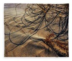 Sand Artistry Fleece Blanket