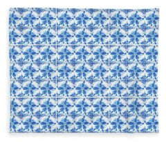 Sand Dollar Delight Pattern 1 Fleece Blanket