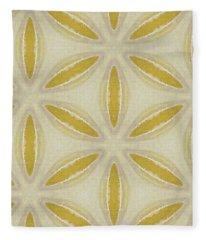 Sand Dollar- Art By Linda Woods Fleece Blanket
