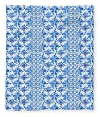 Sand Dollar Delight Pattern 2 Fleece Blanket