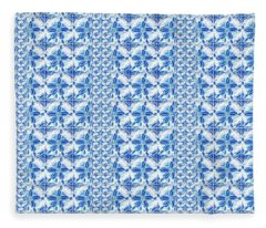 Sand Dollar Delight Pattern 2 Fleece Blanket