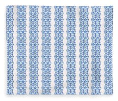 Sand Dollar Delight Pattern 5 Fleece Blanket