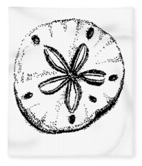 Sand Dollar Fleece Blanket